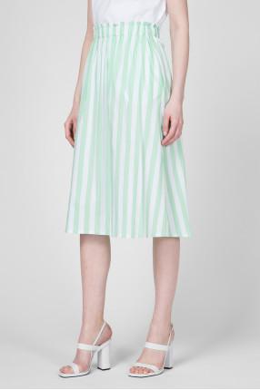 Женская юбка в полоску 1