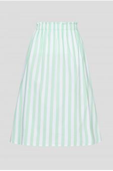 Женская юбка в полоску
