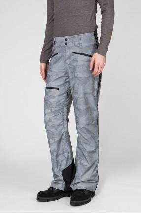 Мужские серебристые лыжные брюки 1