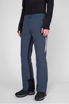 Мужские темно-серые лыжные брюки 1