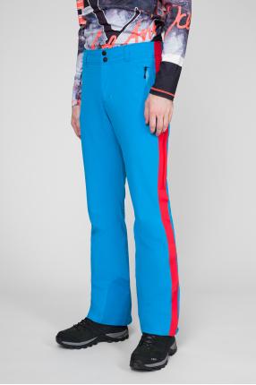 Мужские голубые лыжные брюки 1