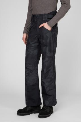 Мужские темно-синие камуфляжные лыжные брюки 1