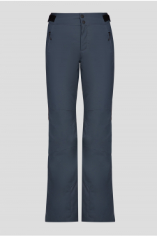 Женские серые лыжные брюки