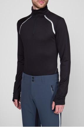Мужская черная спортивная кофта 1