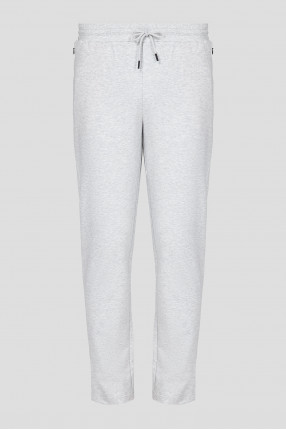 Мужские светло-серые спортивные брюки