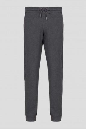 Мужские темно-серые спортивные брюки