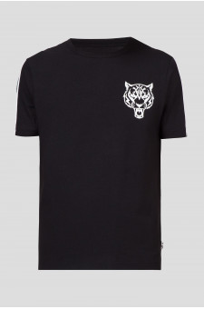 Мужская черная футболка METAL SP