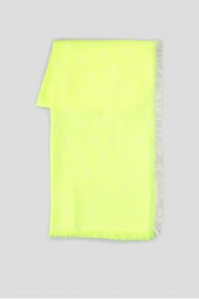 Женский желтый платок