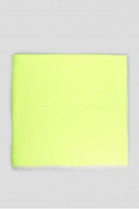 Женский желтый платок 1