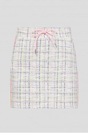 Женская твидовая юбка