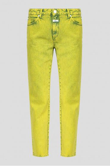 Женские желтые джинсы 1