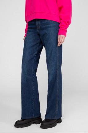 Женские темно-синие джинсы 1