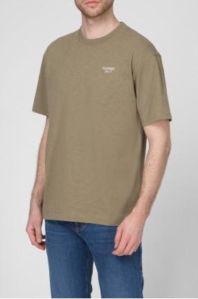 Мужская зеленая футболка 1