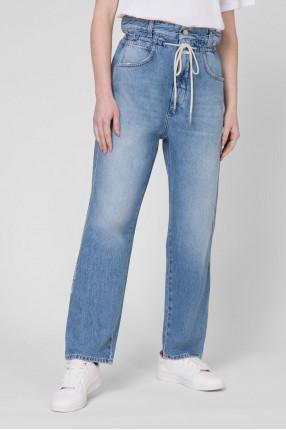 Женские голубые джинсы Relaxed 1