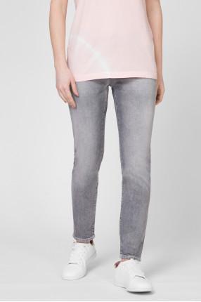 Женские серые джинсы Slim 1