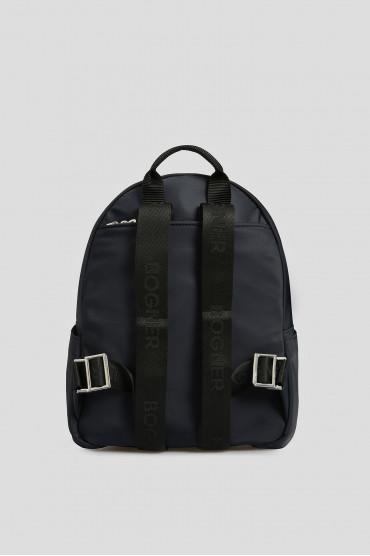 Женский темно-синий рюкзак 3