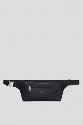 Темно-синяя поясная сумка
