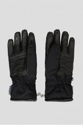 Мужские черные перчатки 1