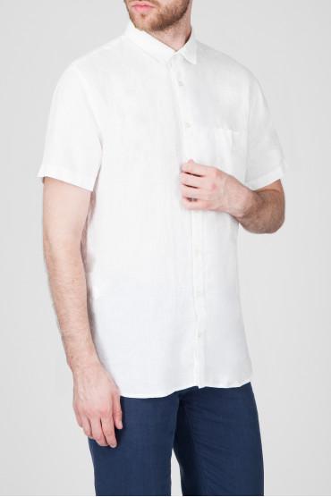 Мужская белая рубашка 2