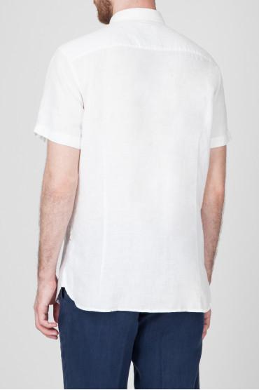 Мужская белая рубашка 3