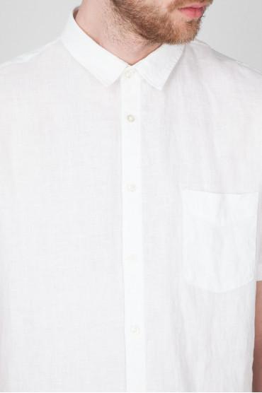 Мужская белая рубашка 4