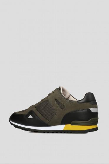 Мужские зеленые кроссовки 3