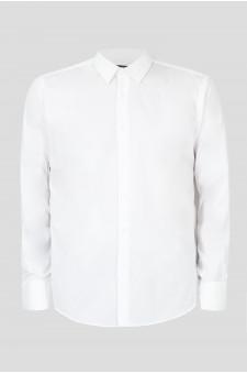 Мужская белая рубашка Travel
