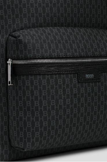Мужской темно-серый рюкзак 5