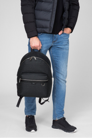 Мужской темно-серый рюкзак 7