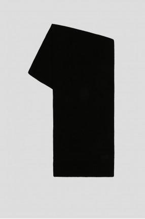 Мужской черный шарф