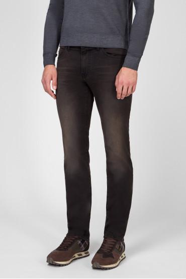 Мужские темно-коричневые джинсы 030 MAINE 2