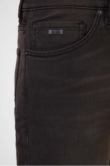 Мужские темно-коричневые джинсы 030 MAINE 4