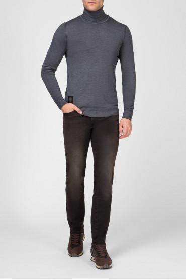 Мужские темно-коричневые джинсы 030 MAINE 5