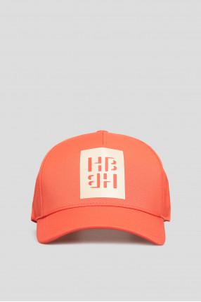 Мужская оранжевая кепка