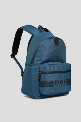 Мужской синий рюкзак 1