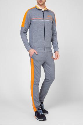 Мужской голубой спортивный костюм (кофта, брюки) 1