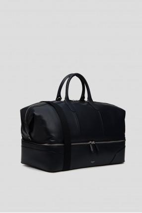 Мужская темно-синяя дорожная сумка  1