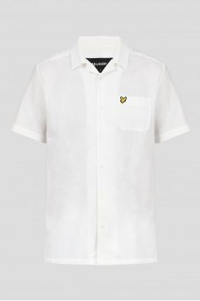 Мужская светло-бежевая рубашка