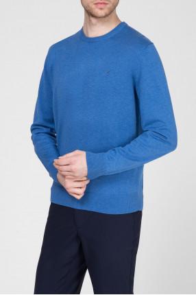 Мужской синий джемпер 1
