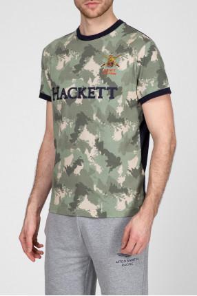 Мужская камуфляжная футболка 1