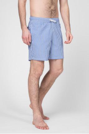 Мужские плавательные шорты в полоску 1