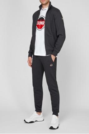 Мужской темно-серый спортивный костюм (кофта, брюки) 1