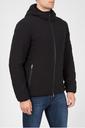 Мужская черная лыжная куртка 1