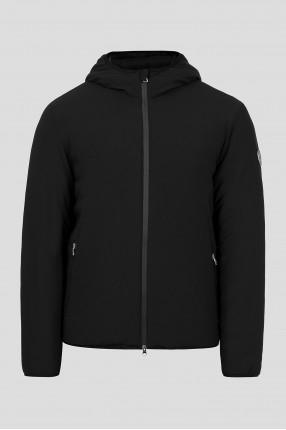 Мужская черная лыжная куртка