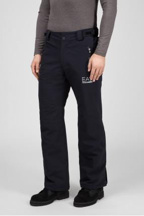 Мужские черные лыжные брюки 1
