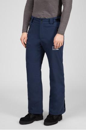 Мужские темно-синие лыжные брюки 1
