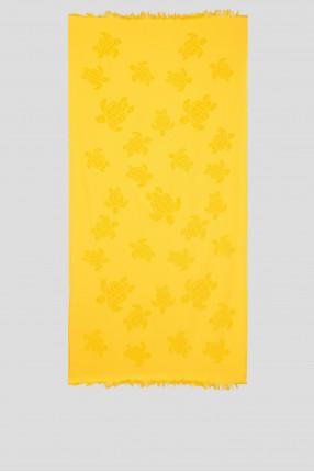 Мужское желтое полотенце