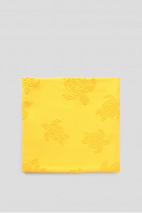 Мужское желтое полотенце 1
