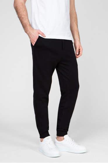 Мужские черные спортивные брюки 2