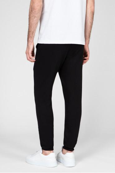 Мужские черные спортивные брюки 3